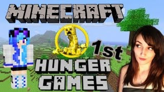 WTF How Did They Find Me Underground?! - Minecraft Hunger Games: My First Time Playing