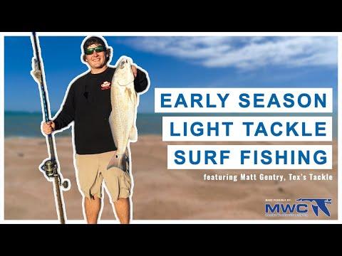 Early Season Light Tackle Surf Fishing