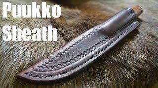 Leatherworking - Puukko Leather Sheath