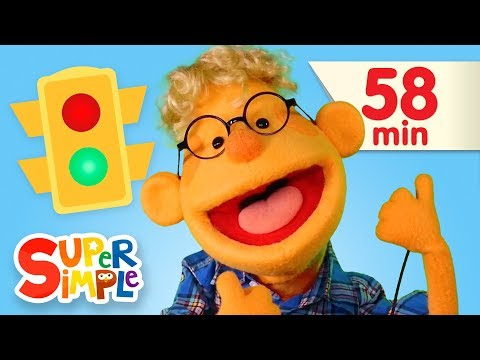 Red Light, Green Light | + More Kids Songs | Super Simple Songs