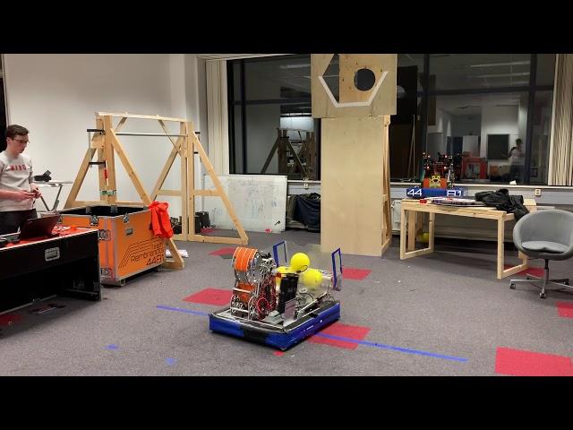 Week 6 - Robot Cycle Test