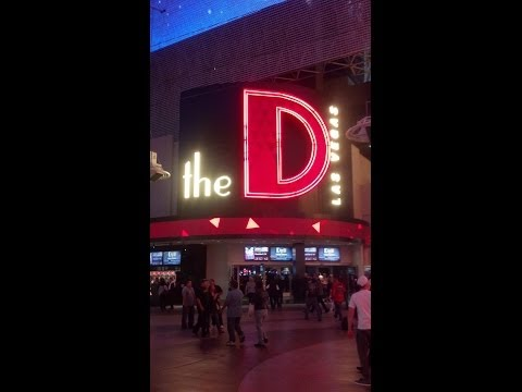 The D Hotel CASINO Las Vegas Deal DANCING DEALERS Flair Bartenders REVIEW