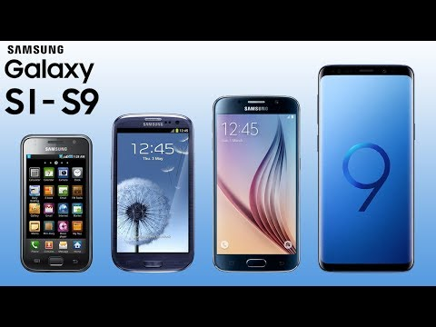 History of Samsung Galaxy S1-S9 | 2010-2018