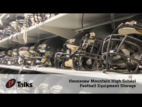 P2 Talks – Kennesaw Mountain High School Football Equipment Storage