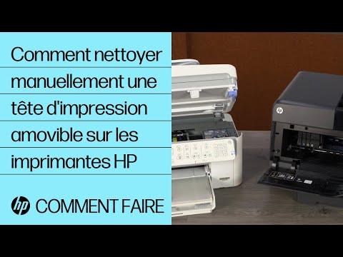 Comment Nettoyer Manuellement Une Tête D'impression Amovible Sur Les Imprimantes HP