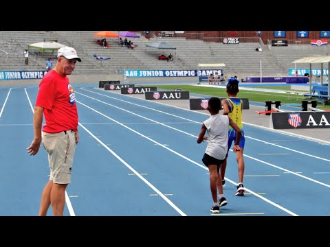 Gary Morgan AAU Junior Olympic Games Race Walking Clinic