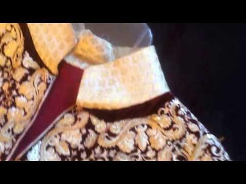 Exclusive Anarkali Dress with Velvet Panels Indian | Pakistani