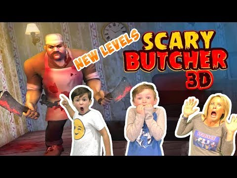 Scary Butcher 3D Horror Game - Will this be the End of the Butcher? (Skit)
