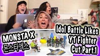 Video [KPOP REACTION] MONSTA X 몬스타엑스 -- IDOL BATTLE LIKES PART.1 -- YOURS TRULY FIGHTER COVER download MP3, 3GP, MP4, WEBM, AVI, FLV November 2017