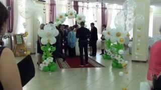 День свадьбы ... встреча гостей
