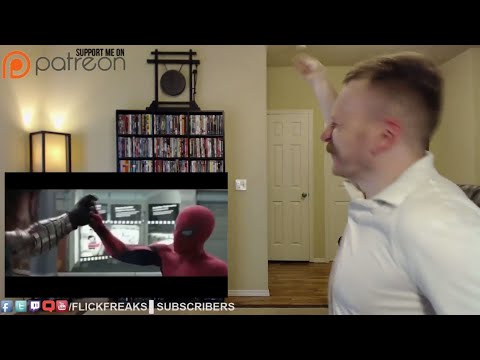 Captain America: Civil War - TV Spot - Spider Man (Reaction & Review)