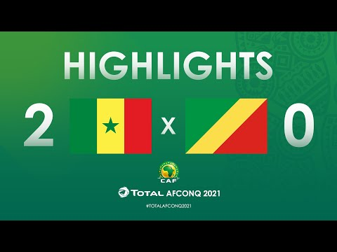 HIGHLIGHTS | #TotalAFCONQ2021 | Round 1 - Group I: Senegal 2-0 Congo
