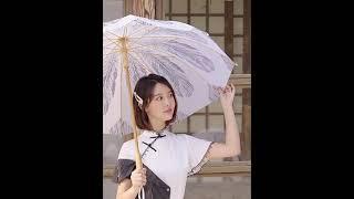 예쁜 여친종결템 튼튼한 자외선차단 레트로 양우산