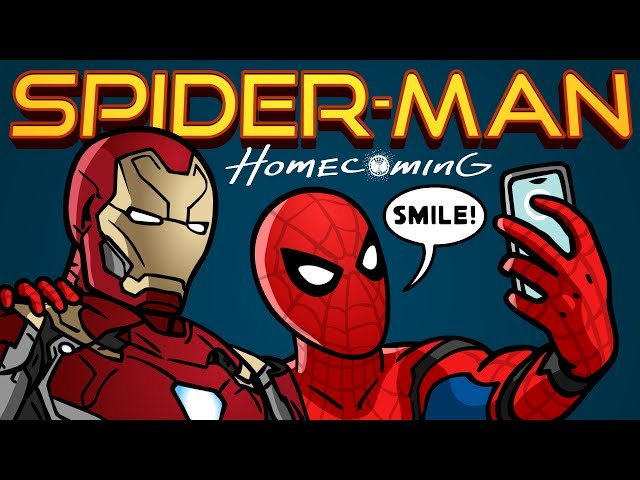 Spider-Man: Homecoming Trailer Spoof - TOON SANDWICH