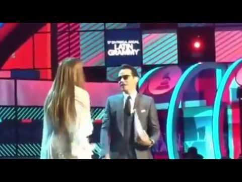 Marc Anthony Y Jennifer Lopez El BESO Del DIVORCIO