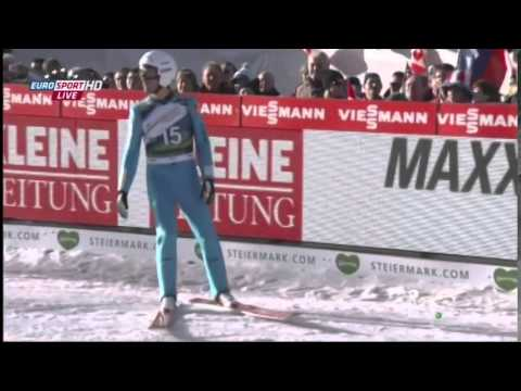 Ski Jumping 1st Round World Cup Tauplitz 10.01.2015