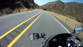 ortega highway honda cbr 929rr and yamaha r1