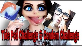 BIG MOUTH BETTYS TAKE ON THE TIDE POD & CONDOM CHALLENGE
