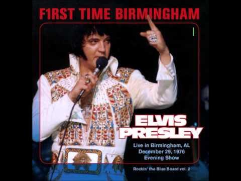 Elvis Presley - F1rst Time Birmigham December - 29 1976 Full Album