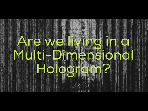 Are we living in a Holographic Virtual Reality Universe?