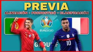 ⚽ PORTUGAL vs FRANCIA | PREVIA · ALINEACIÓN · PREDICCIÓN · CLASIFICACIÓN | #Euro2020 🔥 Grupo F