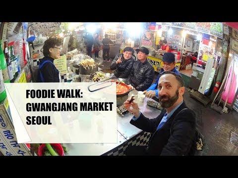 EXTREME FOODIE WALK - Seoul's Gwangjang Market