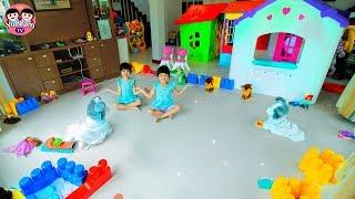 หนูยิ้มหนูแย้ม   เปิดสวนสัตว์ Pretend Play Toy ZOO!