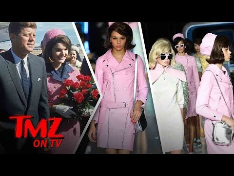 Jackie Kennedy's Infamous Outfit Used In Fashion Show | TMZ TV thumbnail