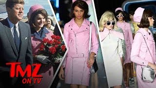 Jackie Kennedy's Infamous Outfit Used In Fashion Show | TMZ TV