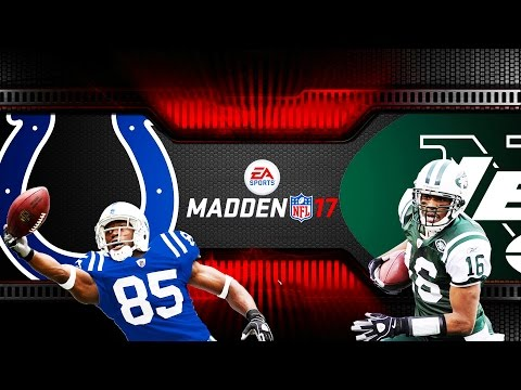 MONDAY NIGHT MADDEN NFL COLTS VS JETS - Monday Night Football - MADDEN 17 NFL Fails & Funny Moments