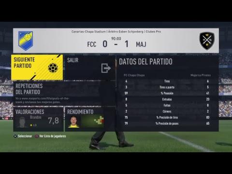 """Partido Temp VFO Jor """"EL TÍTULO DE LIGA""""  @FC Chapa Chapa      vs   @Majorca Pirates      #vamoschap"""