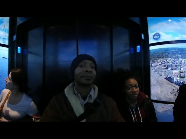 Freedom Tower Elevator tour in 360