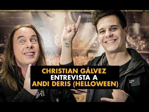Christian Gálvez entrevista a Andi Deris (Helloween)