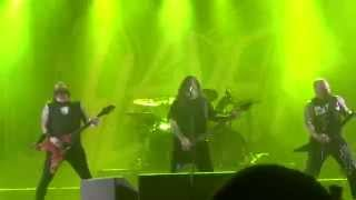 SLAYER Live @ Getaway Rock 2014 HALLOWED POINT [1080p HD]