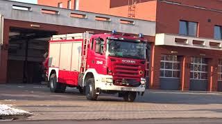 315[W]44 SCRt Scania G420CB  - Wyjazd alarmowy zastępu rat.technicznego JRG 15 Warszawa