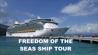 FREEDOM OF THE SEAS CRUISE SHIP TOUR 2018 (3)