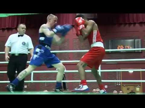 JOSHUA JOHN v KYLE MORRISON , Welsh ABA 56kg Boxing Final 2015