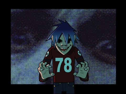 Gorillaz - Let Me Out ( Lyrics )