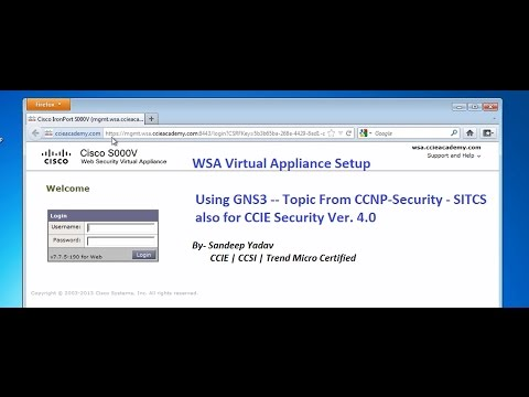 Cisco Ironport WSA- CCNP Security-SITCS