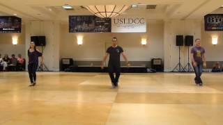 Shady Line Dance by Darren Bailey, Fred Whitehouse & Amy Glass Demo @ 2017 Big Bang