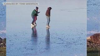 Minnesota DNR: 'Ice is never 100 percent safe'