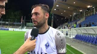 5.Spieltag: Interviews (Stuttgarter Kickers - SV Waldhof)
