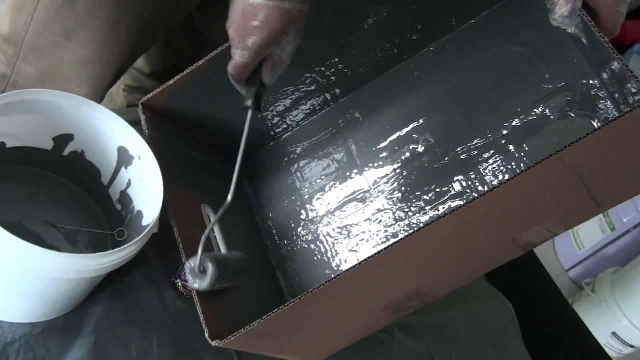 Waterproof Coating Fish Tank