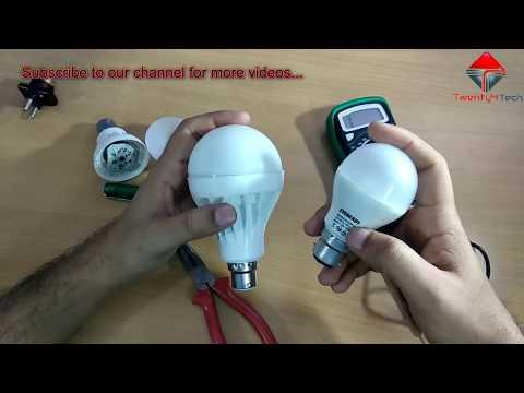 LED Bulb Repair in Hindi - How to repair LED Bulb at Home!!