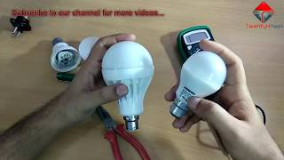 LED Bulb Repair in Hindi - How to repair LED Bulb at Home!!