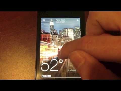 Yahoo! Weather Demo
