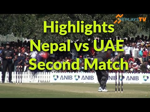 Highlights-2nd T-20 Nepal's victory over UAE