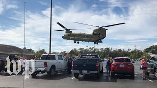 Army airlifts food to Wilmington, N.C.