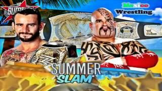 WWE Summerslam 2012 Official Full Match Card