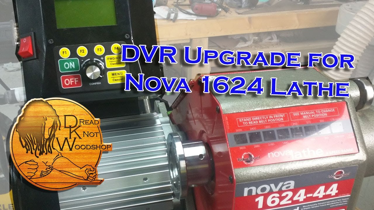 Jet 1642 Lathe Wiring Diagram Trusted Diagrams Nova 1624 Dvr Motor Upgrade Instructional Edition Youtube